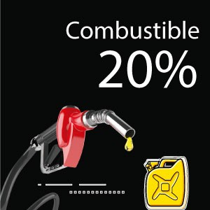 20% de ahorro en combustibles