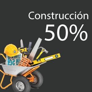 50% de ahorro en construcción