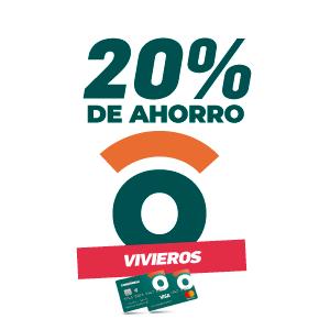 20% de ahorro en viveros y florerías