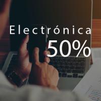 50% de ahorro en electronicos