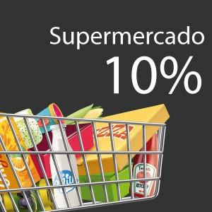 10% de ahorro en supermercados