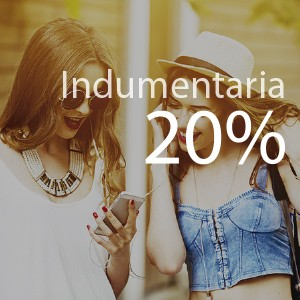 20% de ahorro en indumentaria
