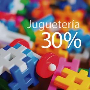 30% de ahorro en jugueterías