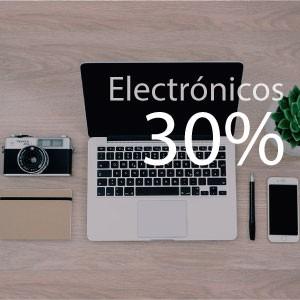 30% de ahorro en electronicos